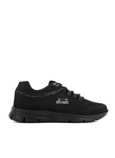 Slazenger Slazenger Edit Sneaker Erkek Ayakkabı    Siyah